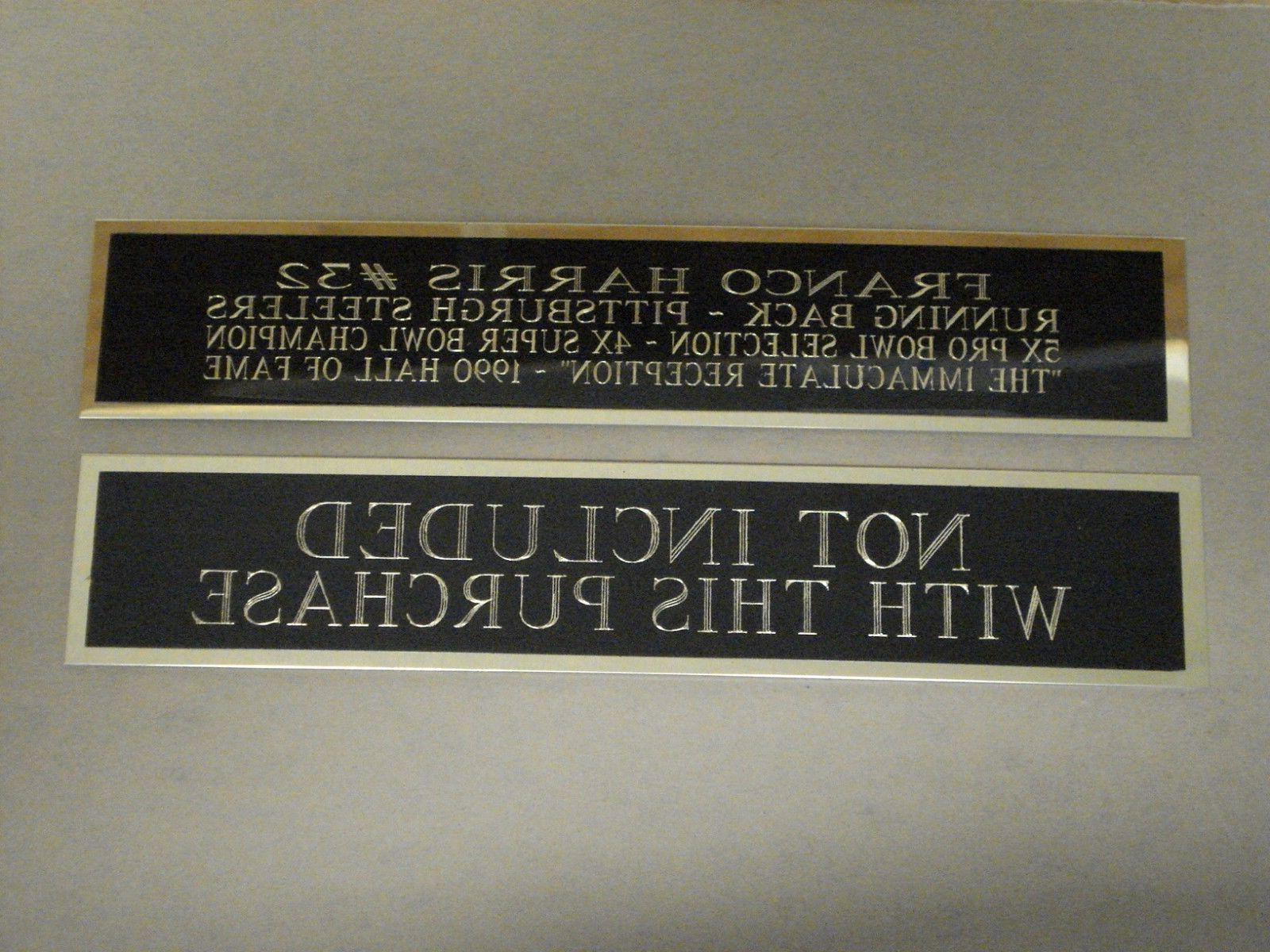 Football Case Nameplate