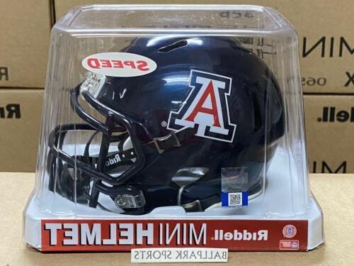 arizona wildcats speed mini helmet