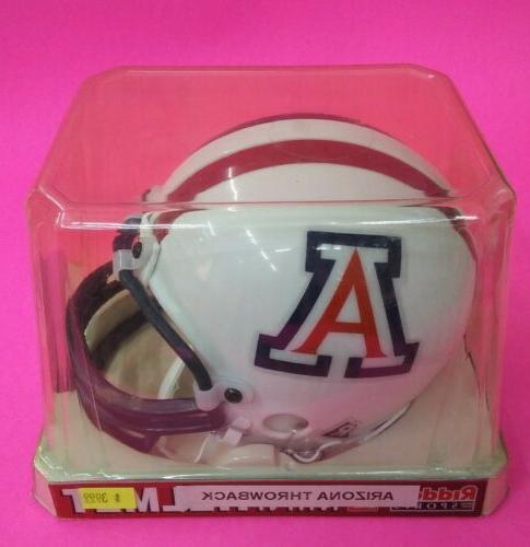 arizona wildcats throwback mini helmet free shipping