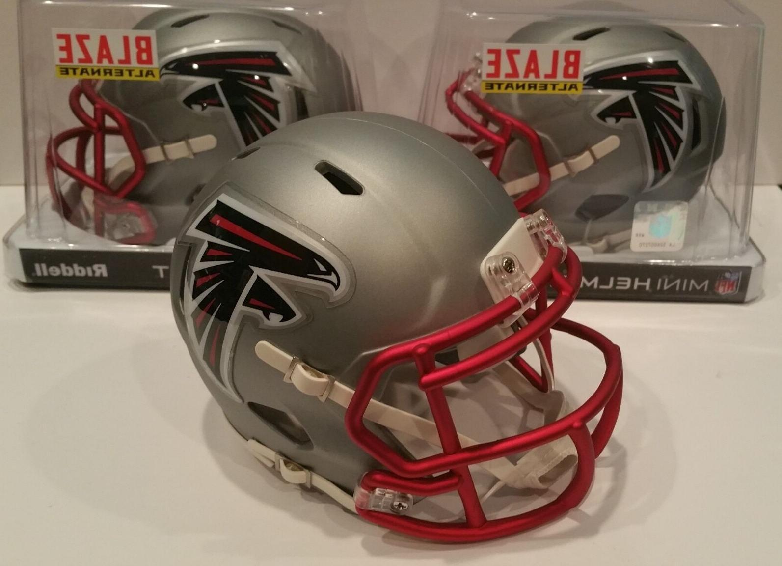 atlanta falcons nfl alternate speed mini helmet