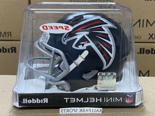 atlanta falcons speed mini helmet 2020 design