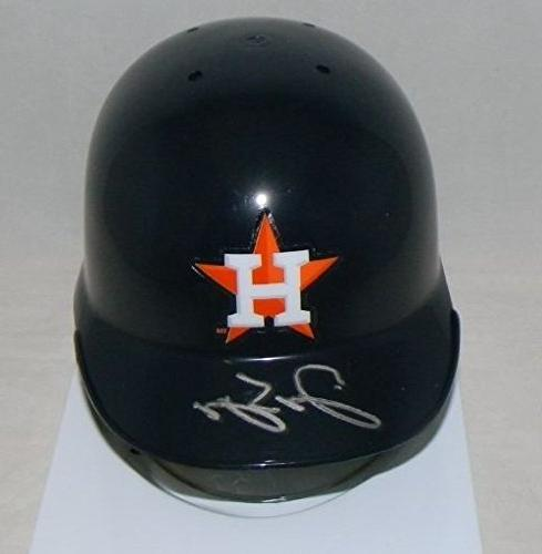 autographed george springer signed houston
