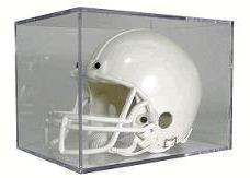 BallQube Mini Football Helmet Display Case -Holder