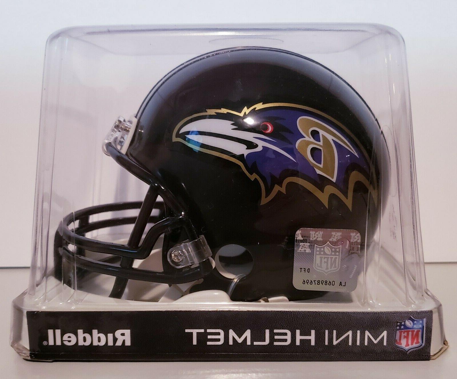 baltimore ravens nfl mini football helmet brand