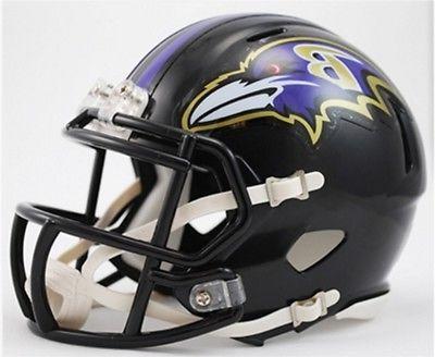 baltimore ravens speed mini replica football helmet