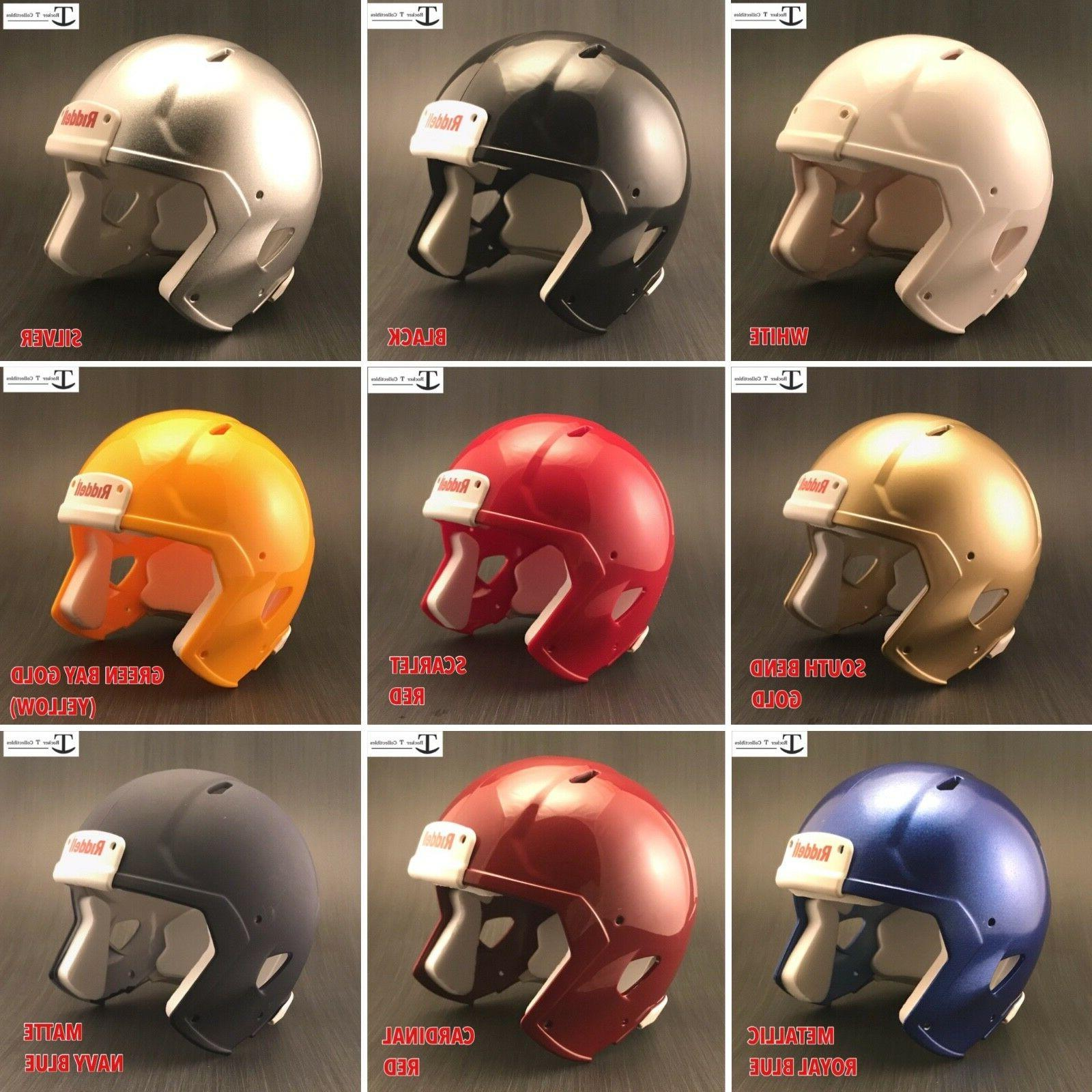 blank speed mini football helmet shell various
