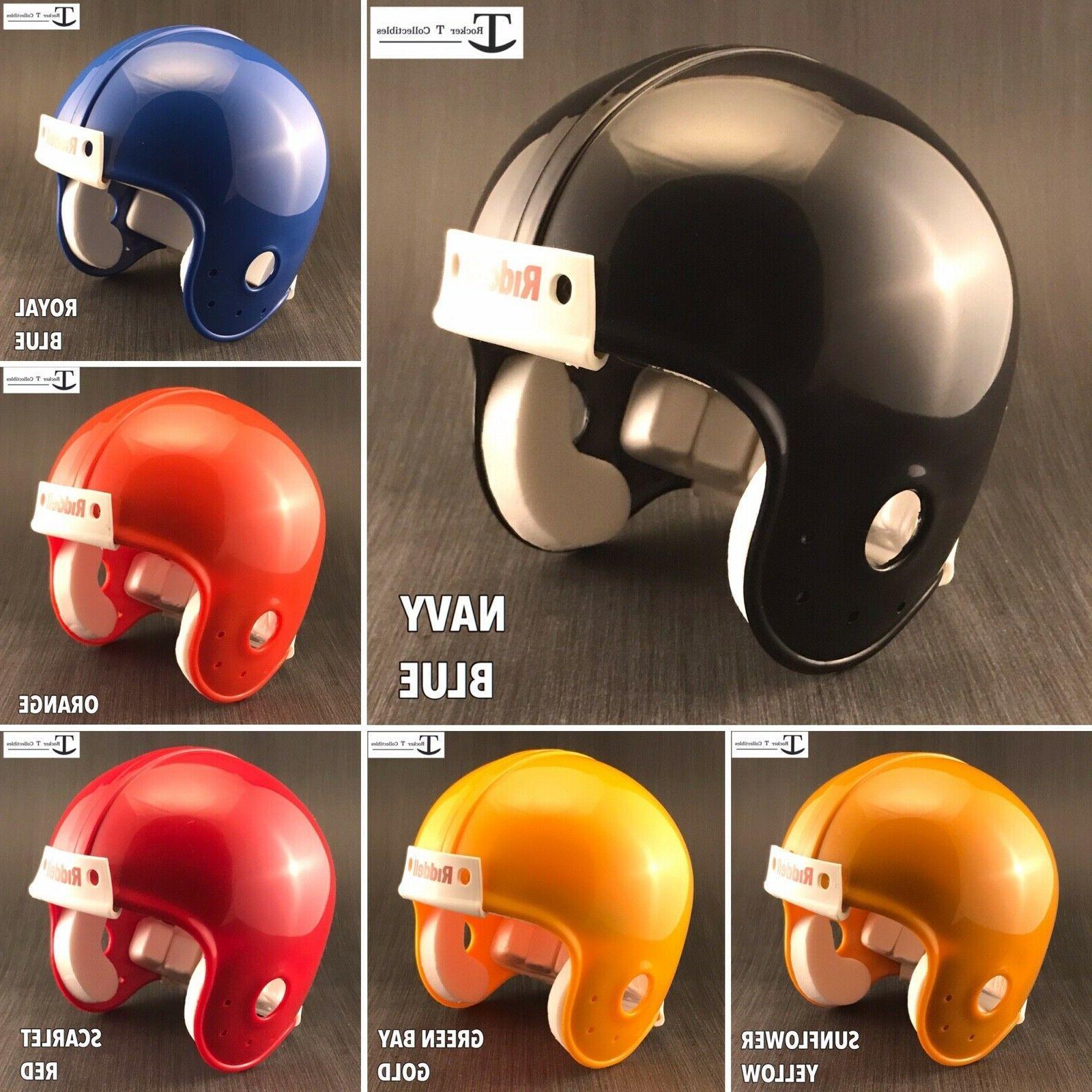 blank vsr4 mini football helmet shell various