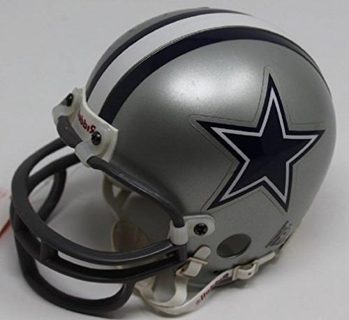 Bob Hayes Mini Helmet Autographed Dallas JSA