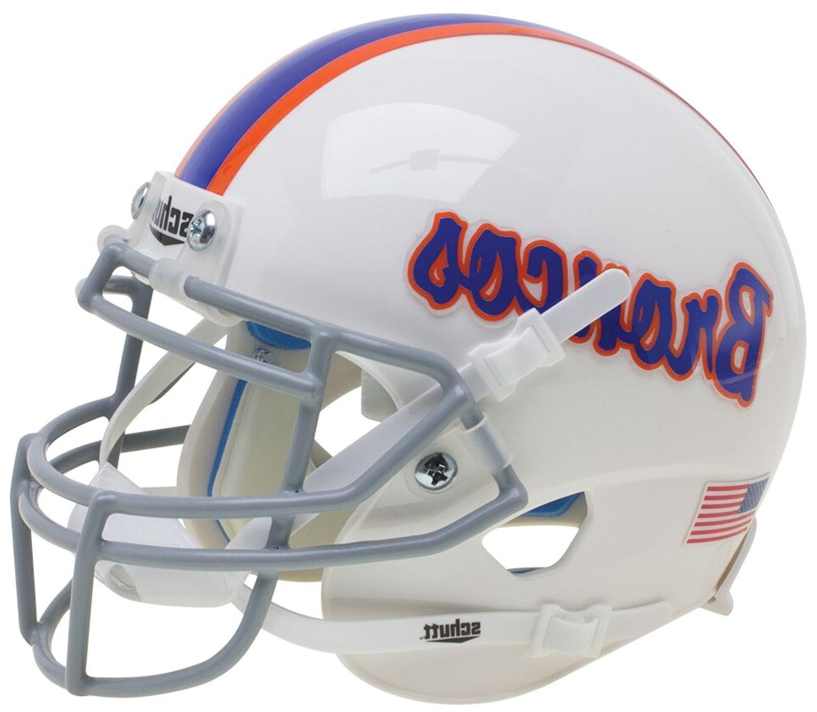 BOISE STATE BRONCOS NCAA Schutt XP Authentic MINI Football H