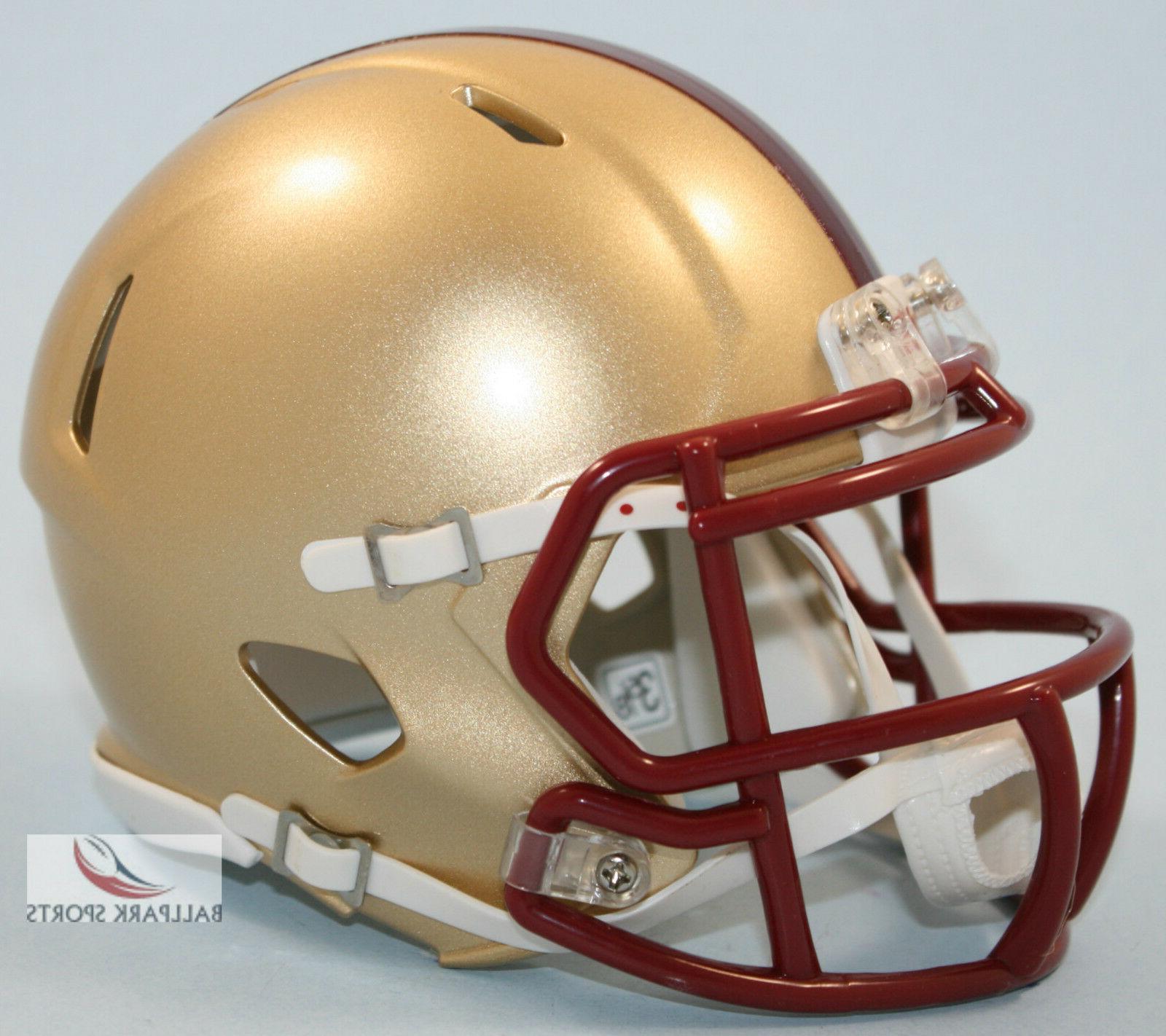 boston college eagles speed mini helmet