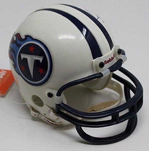 Bud Adams Signed Mini Helmet Tennessee Oilers V77655