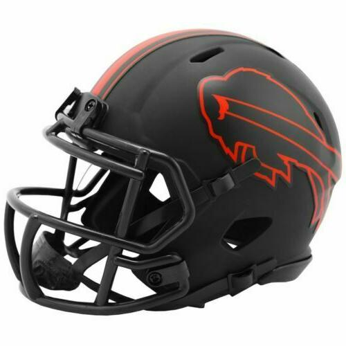 buffalo bills eclipse alternate speed mini helmet