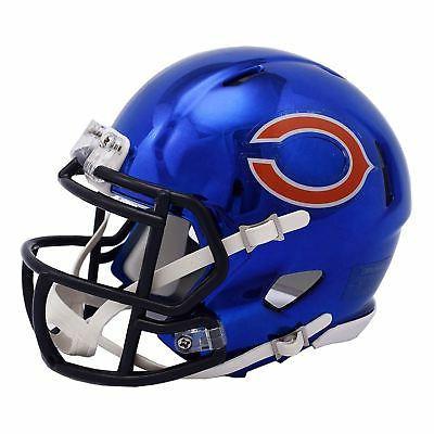 chicago bears mini helmet nfl alternate speed
