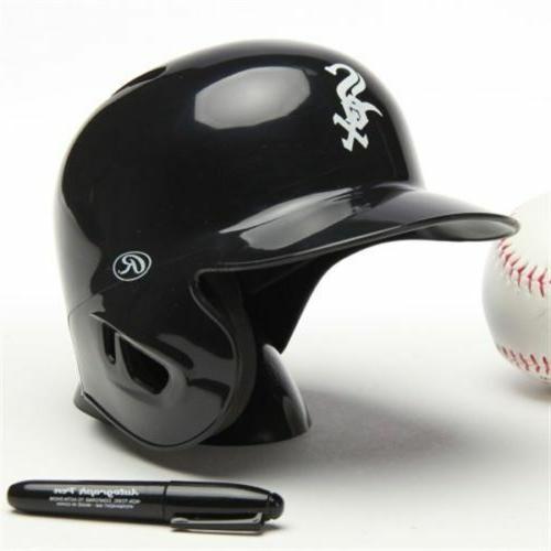 chicago white sox mini batting baseball helmet