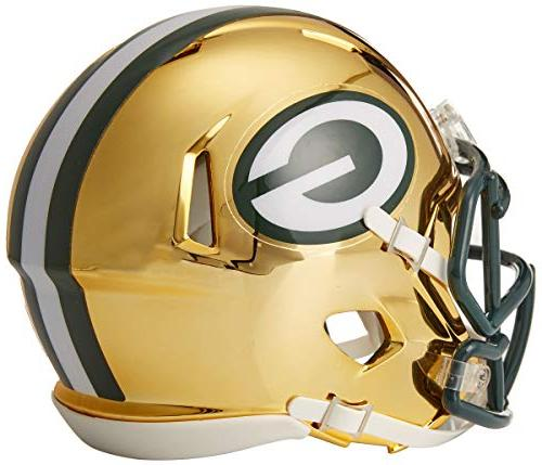 Riddell Chrome Speed Mini Green Bay Packers
