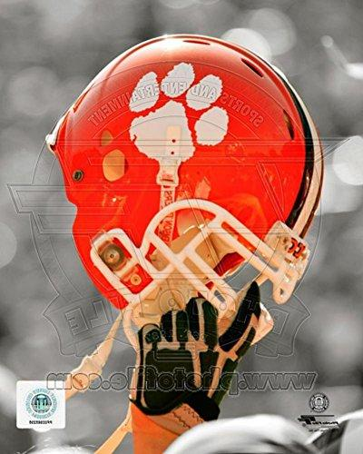 clemson university tigers helmet spotlight