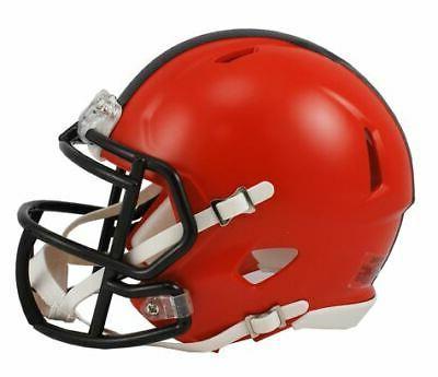 cleveland browns nfl replica speed mini football