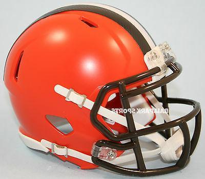 cleveland browns speed mini helmet