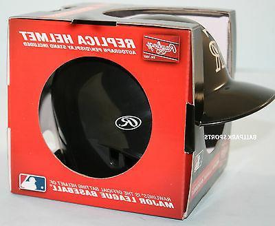 COLORADO ROCKIES - Mini Batters Helmet w/ stand