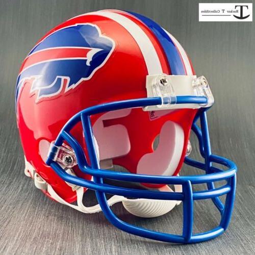 Riddell Buffalo Bills Throwback 1984-1986 Helmet Blue