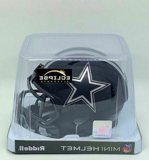 DALLAS Blue Star ECLIPSE Mini Helmet NIB Riddell