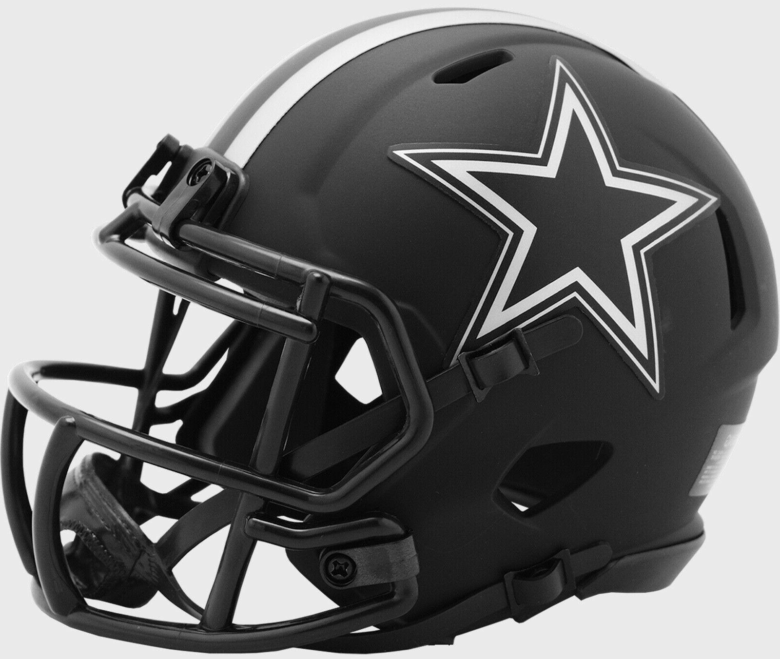 dallas cowboys eclipse alternate speed mini helmet