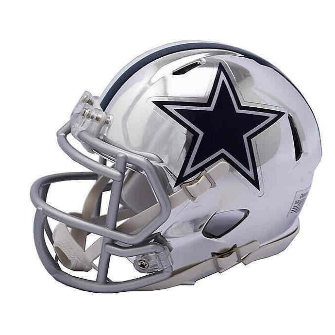 dallas cowboys mini helmet nfl alternate speed