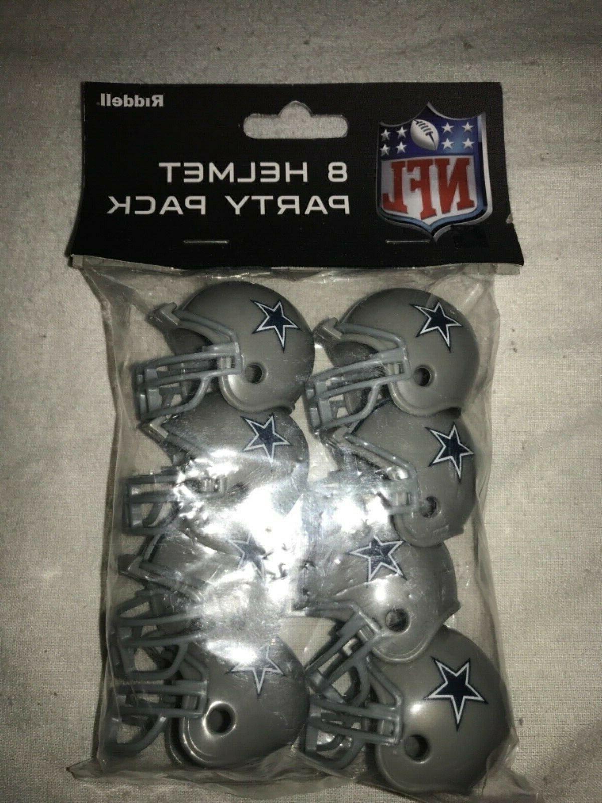 dallas cowboys speed mini helmet 8 pack