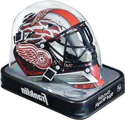 detroit red wings unsigned franklin sports replica