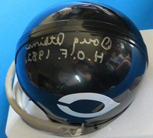 Doug Autographed Mini Chicago Bears Memorabilia JSA