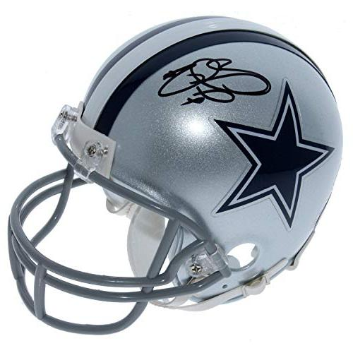 emmitt smith dallas cowboys autographed signed riddell