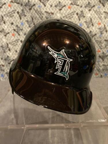 Florida Marlins Mini Batting Baseball Display Case