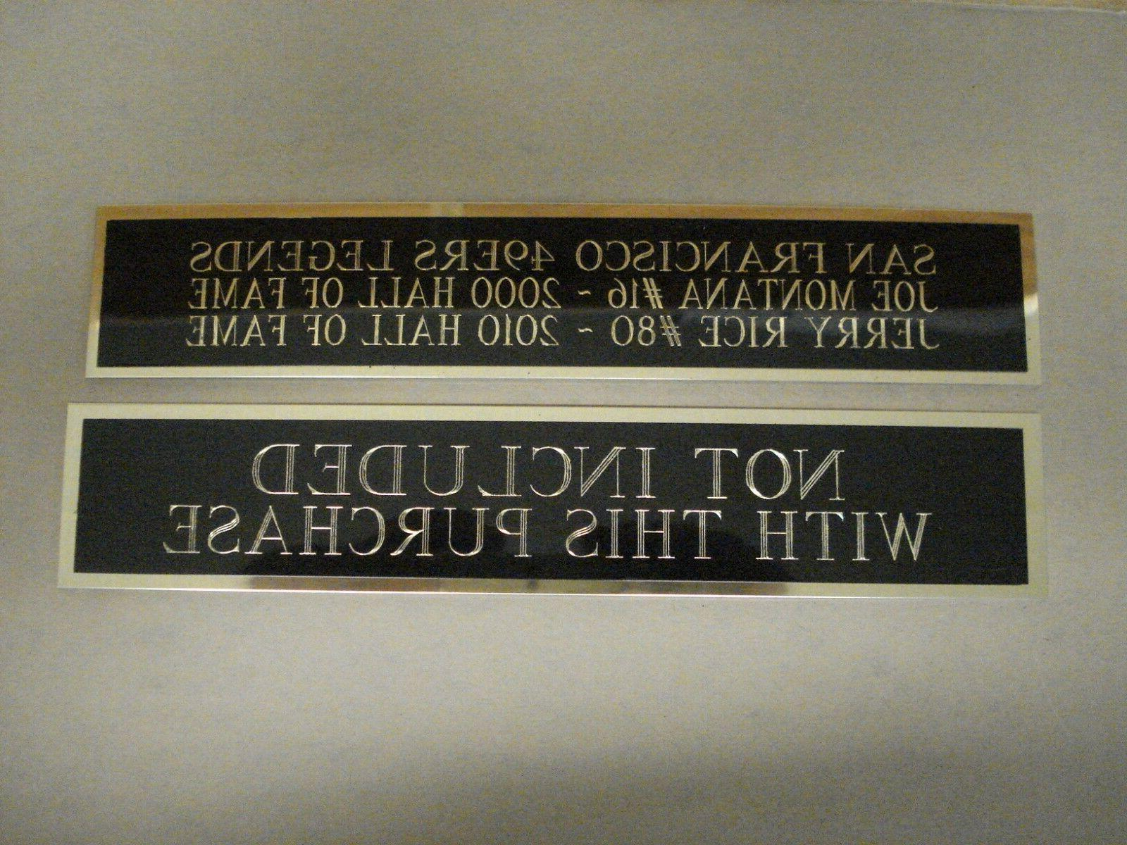 Any Player Football Case An Nameplate