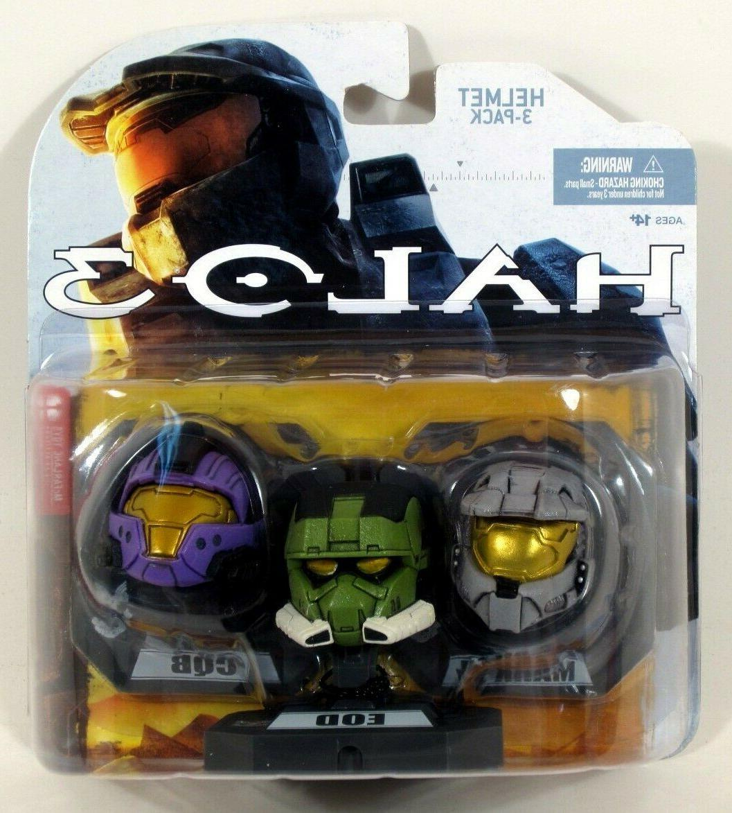 McFarlane Toys Mini Helmet 3-Pack -