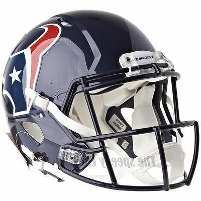 Riddell Houston Texans Speed Authentic Helmet