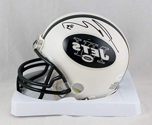 jamal adams autographed ny jets mini helmet