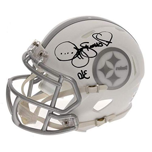 jerome bettis autographed signed pittsburgh steelers alterna