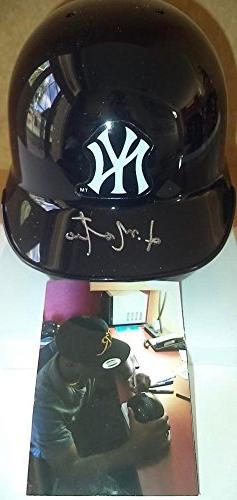 Jorge Mateo New York Yankees Signed Autographed Auto Riddell