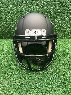 Kansas Speed Black ICE Mini Helmet