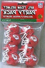 Kansas City Chiefs Team Helmet Party Pack