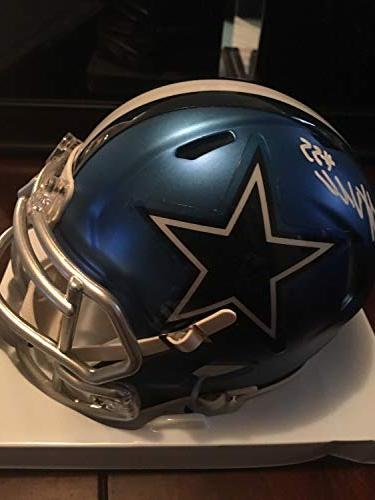 leighton vander esch dallas cowboys autographed signed