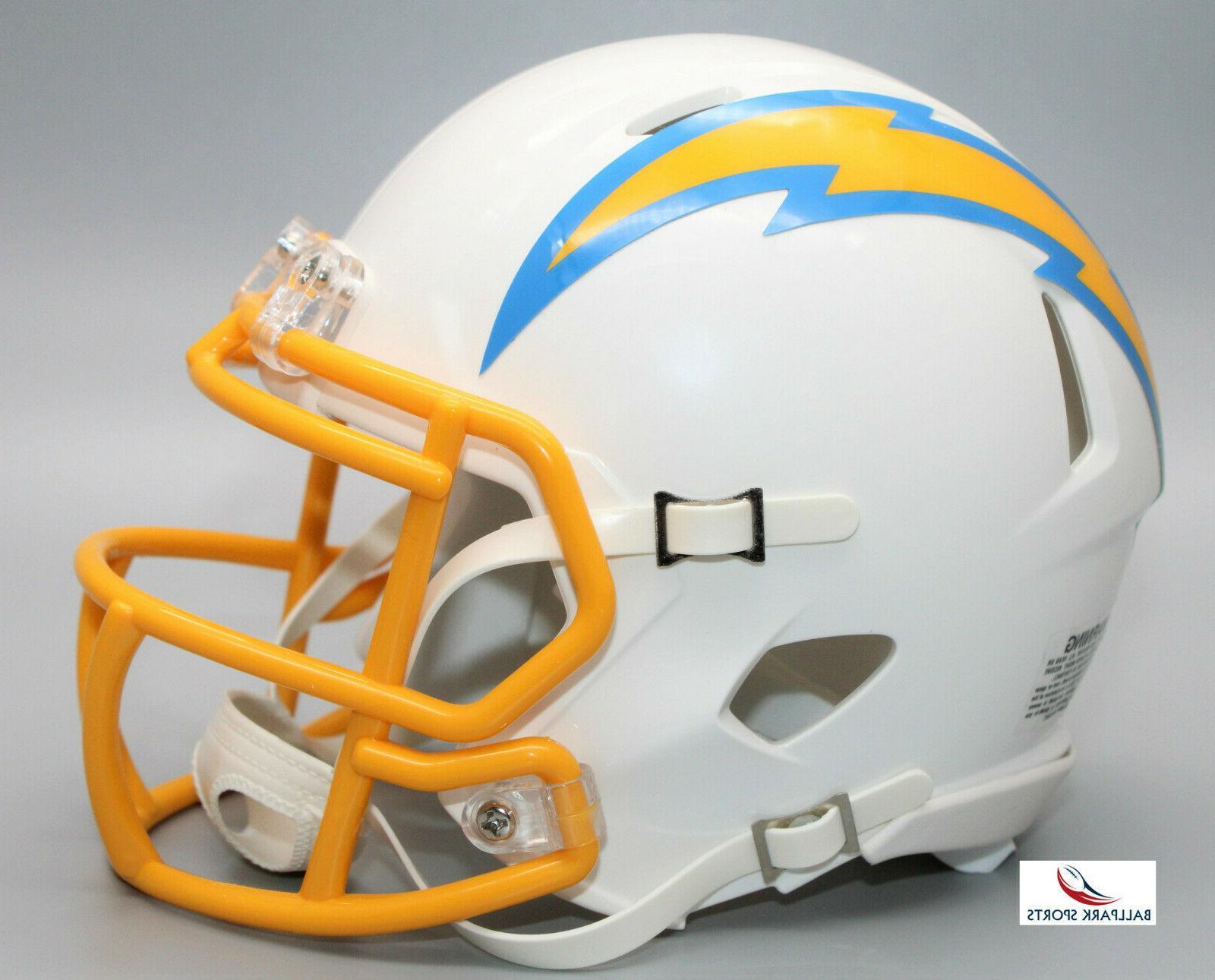 los angeles chargers speed mini helmet 2020