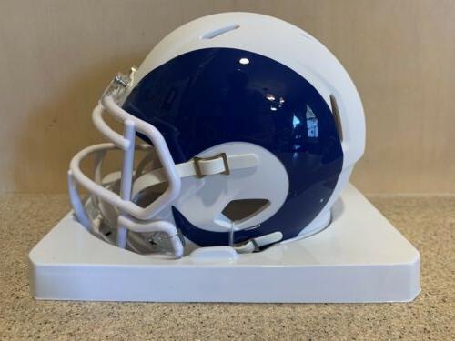 Los Rams NFL Riddell Mini Helmet,