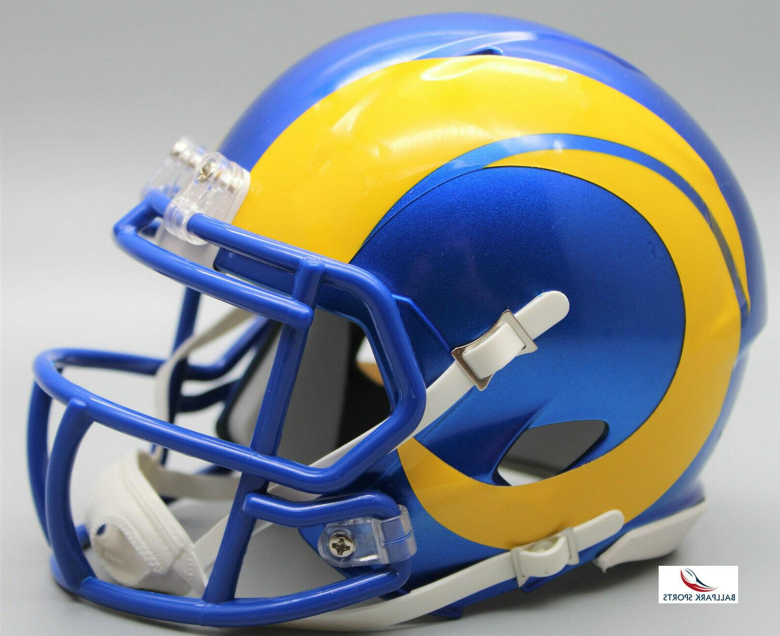 los angeles rams speed mini helmet 2020