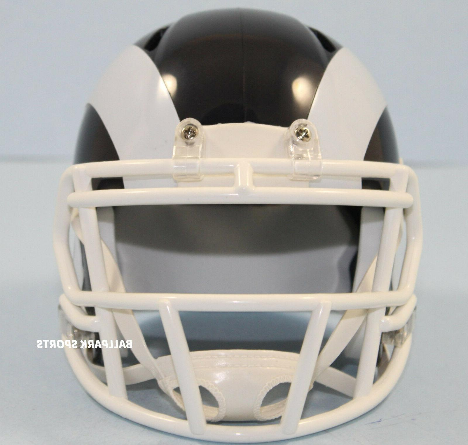 LOS RAMS Riddell Speed Mini Helmet