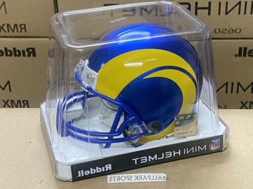 los angeles rams vsr4 mini helmet new