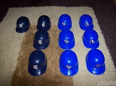 lot 10 replica mlb mini helmets new