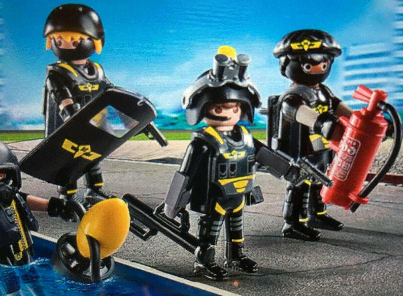 M~9365-CHOOSE 1 PLAYMOBIL Police Mini: GOGGLES