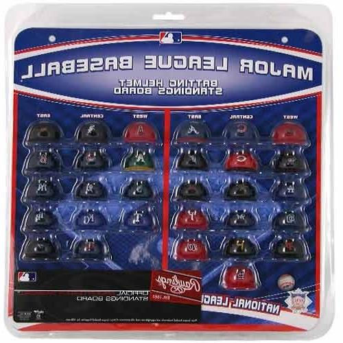 Major League Baseball Helmet Standings Board