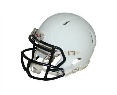 matte white with black mask blank revolution